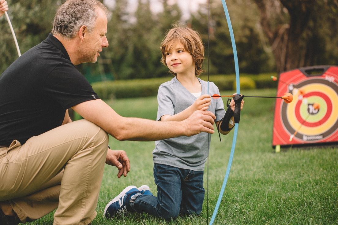 Apprendre le tir à l'arc en toute sécurité avec le soft archery