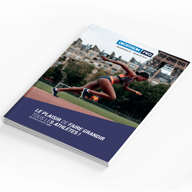 couverture du catalogue athletisme