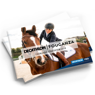 couverture du catalogue fouganza equitation