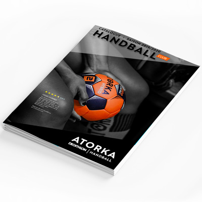 couverture du catalogue atorka handball