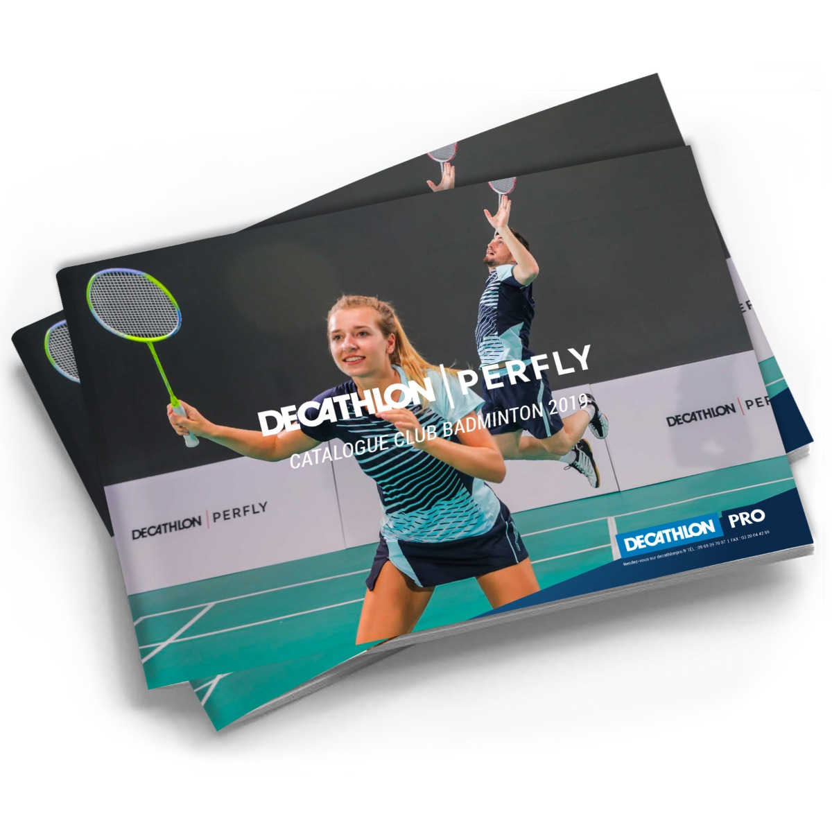 couverture du catalogue perfly Badminton
