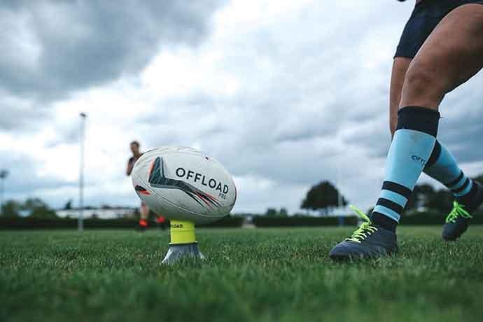 rugby offload pratique