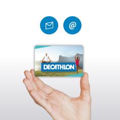les cartes cadeaux decathlon