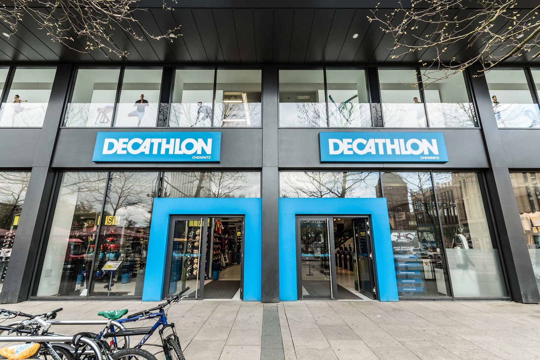 magasin decathlon en centre ville